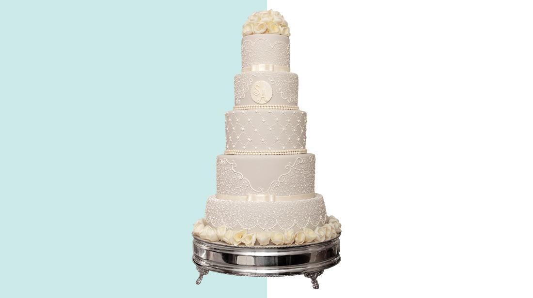 Bolo de casamento - Destaque Casal Garcia