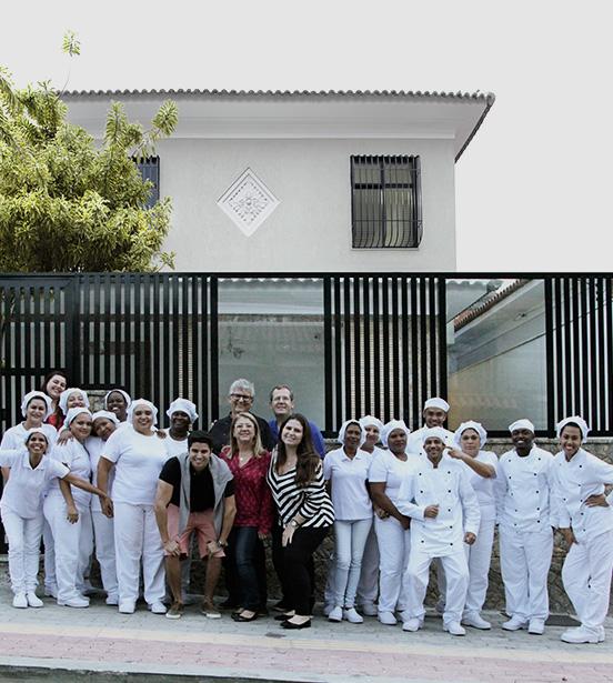 Equipe do ateliê Casal Garcia